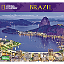 2015 National Geographic Brazil Wall Calendar
