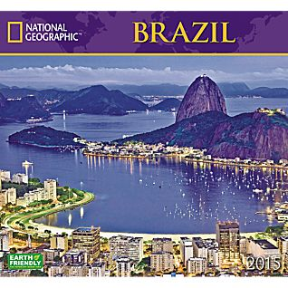 View 2015 National Geographic Brazil Wall Calendar image