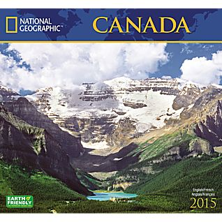 View 2015 National Geographic Canada Wall Calendar image