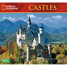 2015 National Geographic Castles Wall Calendar