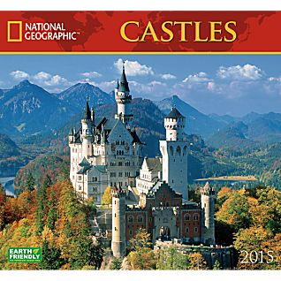 View 2015 National Geographic Castles Wall Calendar image