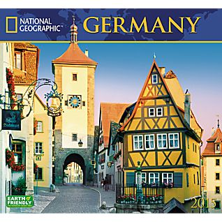 2015 National Geographic Germany Wall Calendar