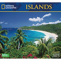 2015 National Geographic Islands Wall Calendar