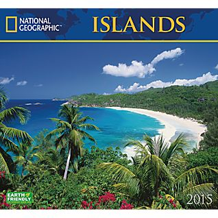 View 2015 National Geographic Islands Wall Calendar image
