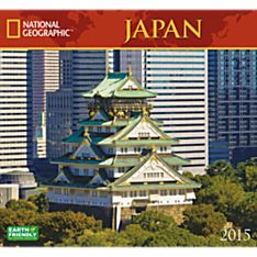 2015 National Geographic Japan Wall Calendar