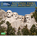 2015 National Geographic National Parks and Monuments Wall Calendar
