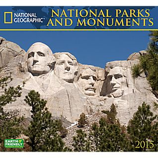 View 2015 National Geographic National Parks and Monuments Wall Calendar image