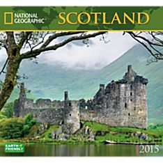 2015 National Geographic Scotland Wall Calendar
