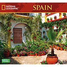 2015 National Geographic Spain Wall Calendar
