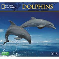 2015 National Geographic Dolphins Wall Calendar