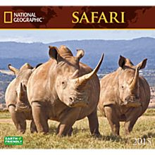 2015Safari Wall Calendar