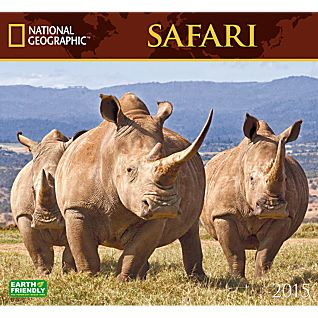 2015 National Geographic Safari Wall Calendar