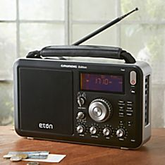 Shortwave AM/FM Field Radio