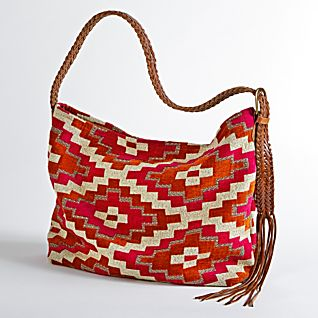 View Moroccan Zelij Hobo Bag image