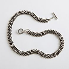 Handcrafted Lao Silver Necklace