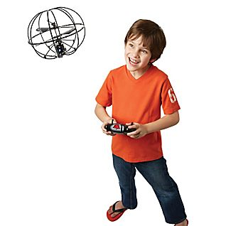 View Gyroscopic Remote-controlled Flying Sphere image