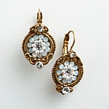 Handcrafted Toscana Vintage-Style Earrings
