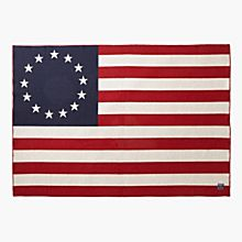 Betsy Ross Flag Throw, Made in the United States