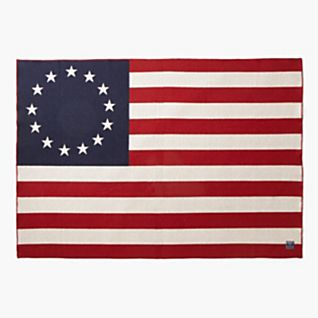 Betsy Ross Flag Throw