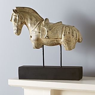View Indonesian Horse Sculpture image