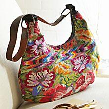 Guatemalan Brocade Sling Bag