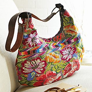 View Guatemalan Brocade Sling Bag image