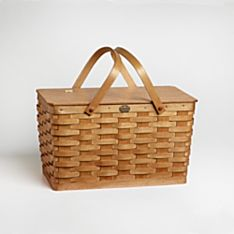 Handcrafted Peterboro Classic Picnic Basket