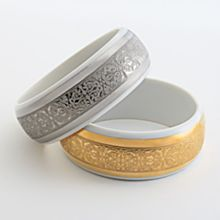 Handcrafted Limoges Bangle Bracelets