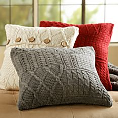 Traditional Irish Aran Pillow