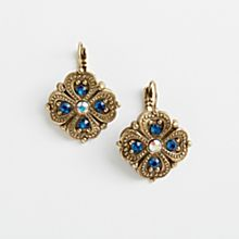 French Art Nouveau Earrings