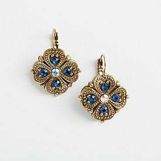 View French Art Nouveau Earrings image