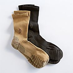 Compression Crew Socks, Made in Italy