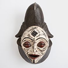 Handcrafted Punu Mask from Gabon