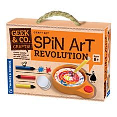 Spin Art Revolution, Ages 8 and Up