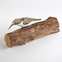 Indonesian Hand-Carved Brown Creeper