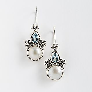 View Balinese Frangipani Earrings image