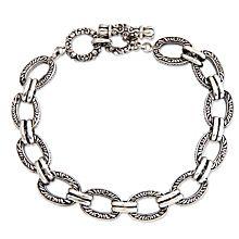 Balinese Sterling Silver Link Bracelet