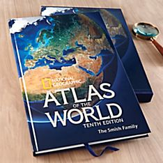 Book of World Atlas Map