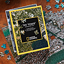 ''My Town'' Custom Aerial Map Puzzle