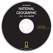 Complete National Geographic - 2010-2013 Annual Update DVD-ROM