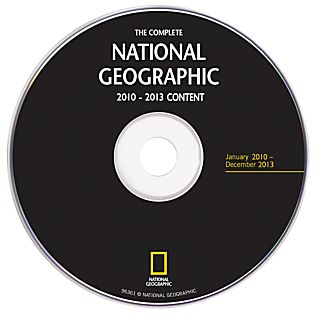 View Complete National Geographic - 2010-2013 Annual Update DVD-ROM image