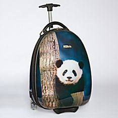 Kids Panda Hard-Side Luggage