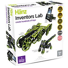 Inventor's Lab Building Kit, Ages 8 and Up