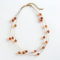 Apollonian Amber Necklace, Made in Poland