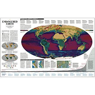 View Endangered Earth Map image
