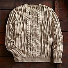 Men's Peruvian Chancay Pima Cotton Sweater