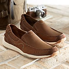 Mens Travel Slip Ons