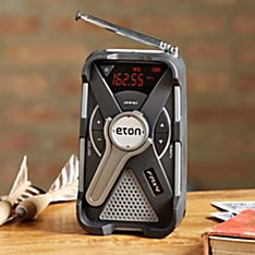 Eton Rechargeable AM/FM/NOAA Radio