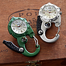 Carabiner Whistle Clip Watch