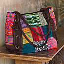 Vintage Patchwork Hmong Tote